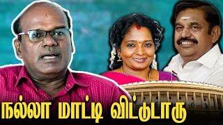 வசமா சிக்க வச்சுட்டாங்க : Ravindran Duraiswamy Interview Lok Sabha Election   Tamilisai - Kanimozhi
