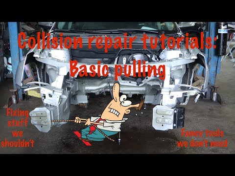Frame Pulling Tutorial On Our 2015 GMC Terrain Salvage Rebuild Project.