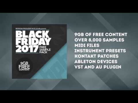 BPB Black Friday Sample Pack 2017 (EXPIRED) - Bedroom Producers Blog