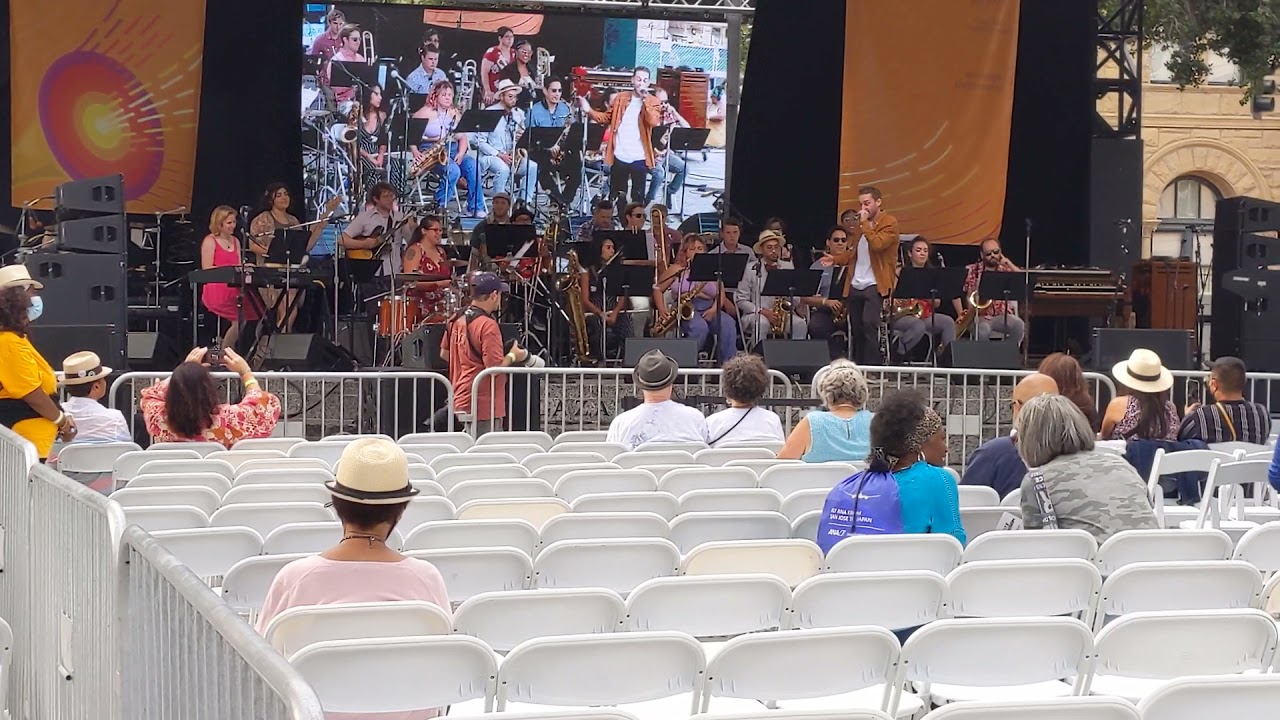 """Bennett Roth with 7th Street Big Band - """"Reckless"""" (Main Stage at 2021 San Jose Jazz Summer Fest)"""