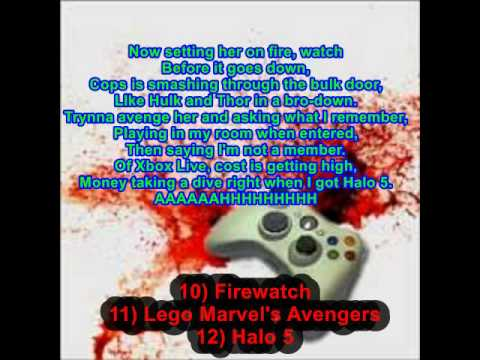 VIDEOGAME RAP CONTEST 2 Entry (Lyric Video) Prod. by OmniBeats
