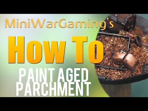 How To: Paint Aged Parchment