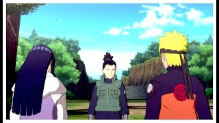 naruto and hinata visit neji s grave bonds of the hyuga naruto shippuden ultimate ninja storm 4