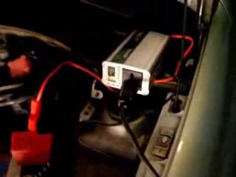 220 volts no carro - Inversor 12v p/ 220v