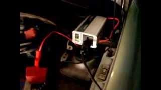 220 volts no carro - Inversor 12v p/ 220v