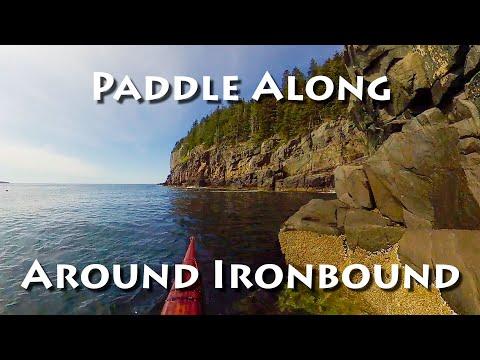 Paddle Along Around Ironbound Island In A Sea Kayak
