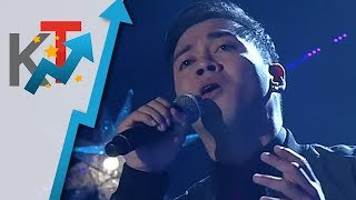 TNT All Star Grand Resbak Round 2 Sofronio Vasquez sings 'The Way We Were'