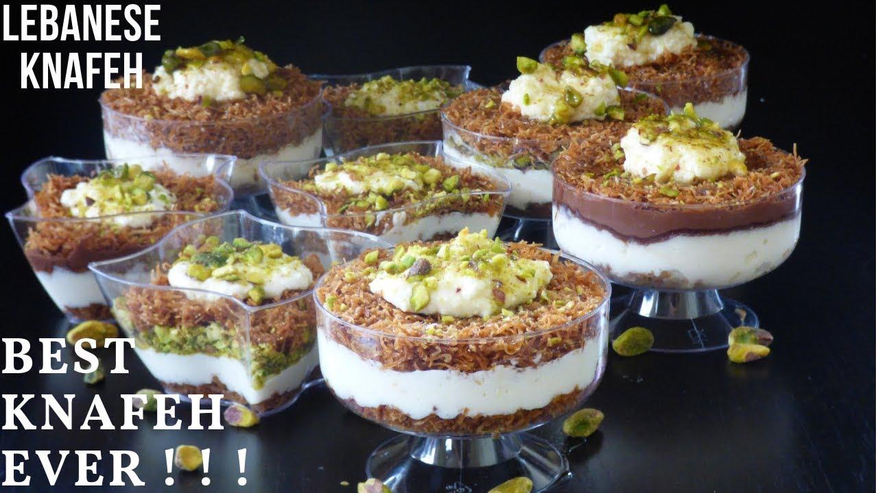 Lebanese Knafeh Recipe Semolina Dandk Organizer