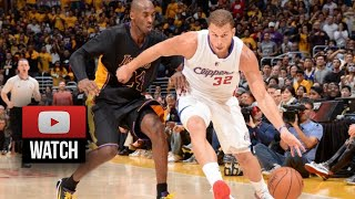 blake griffin full highlights at lakers 2014 10 31 39 pts 7 reb sick
