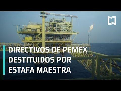 Directivos de Pemex destituidos por participación en estafa maestra - En Punto con Denise Maerker