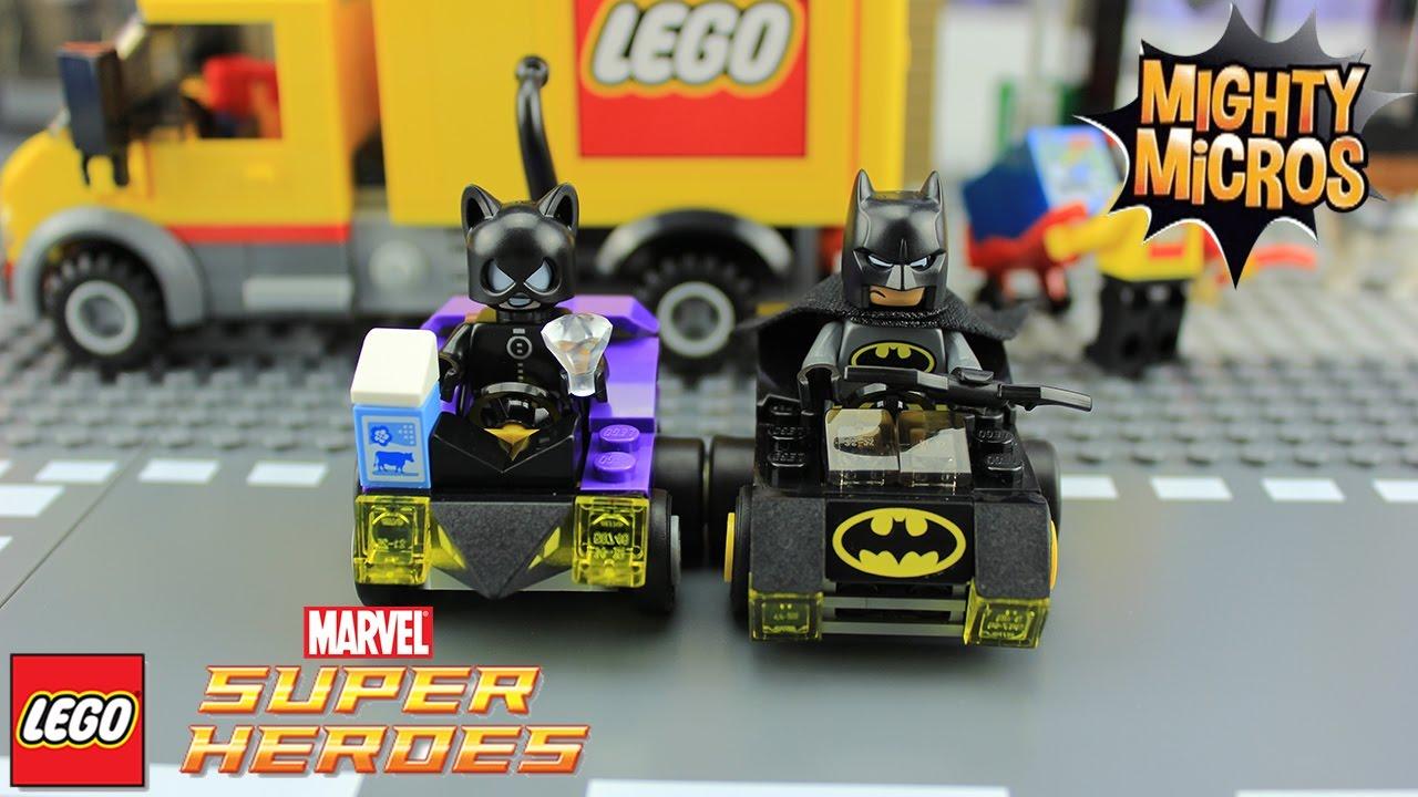Hướng dẫn lắp ráp lego siêu anh hùng 76061 Mighty Micros Batman vs Catwoman