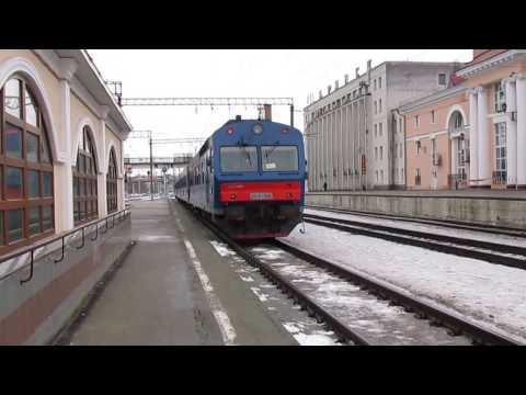 АЧ2-042+041 с дизель-поездом Брянск - Комаричи