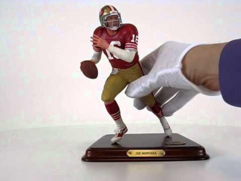 Joe Montana SF 49ers Danbury Mint, 23527