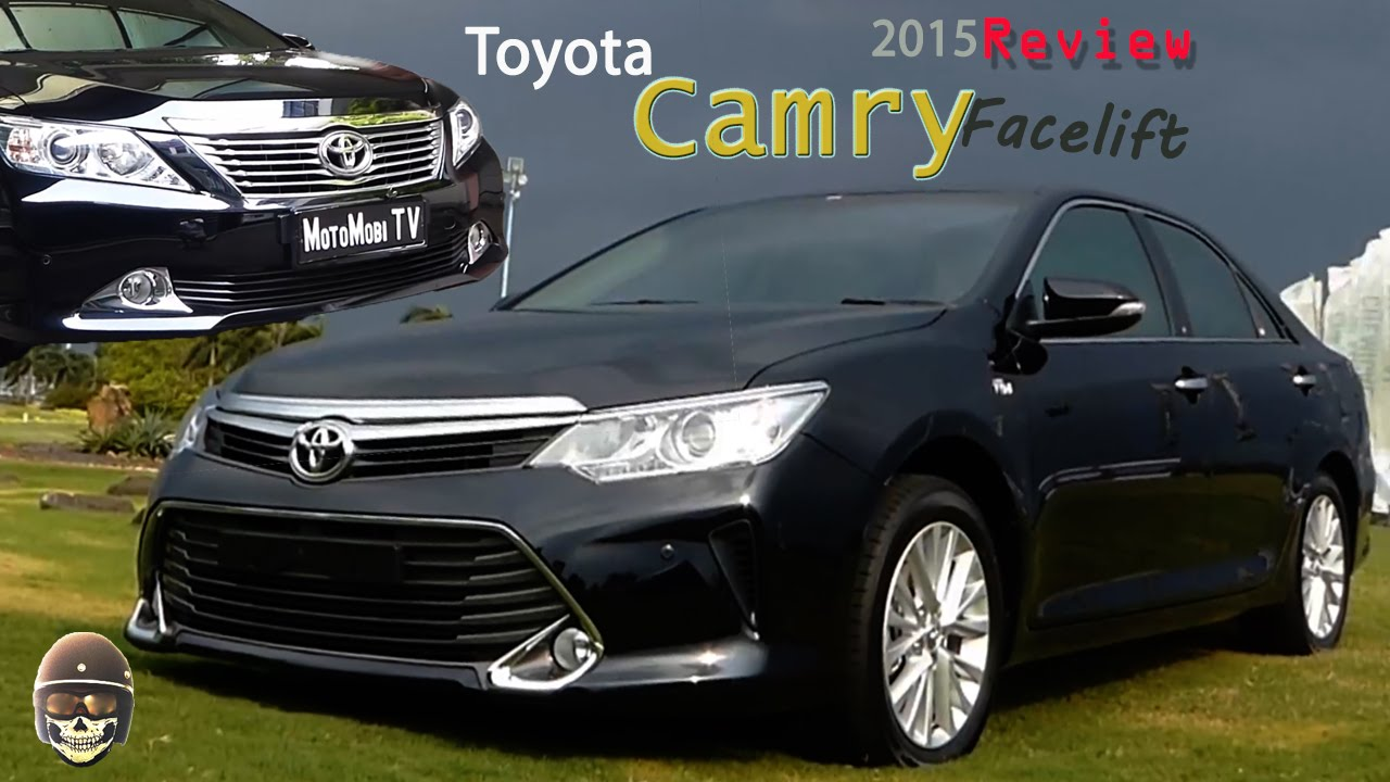 all new camry 2017 indonesia toyota yaris trd 2014 dijual review youtube