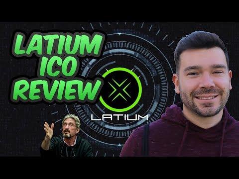 Latium ICO Review - Advisor John McAfee