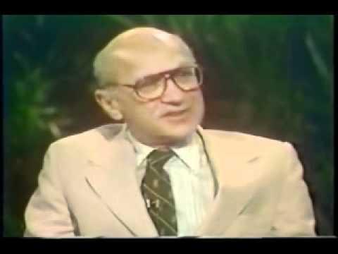 Milton Friedman on Bailouts