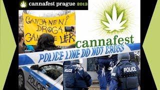 93° BlunTV - Paradoxe Polizeiaktion in Prag - Cannafest startete trotzdem! Legalizace