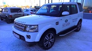 2014 Land Rover Discovery 4. SDV6 (3.0). HSE.  Start Up, Engine, and In Depth Tour.