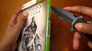 Assassins Creed Revelations Signature Edition Unboxing (Xbox 360)