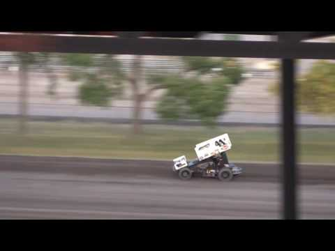 Dominic Scelzi 8-28-16 WoO Heat Race Nodak Speedway Minot, ND