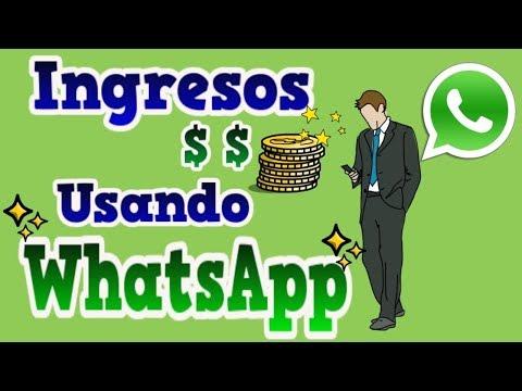7 formas de tener ingresos usando whatsapp