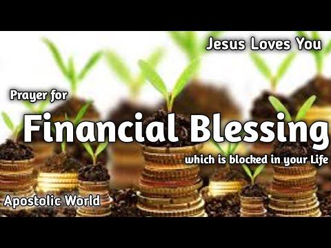 Prayer for Financial blessing #Prayer for Financial blessing