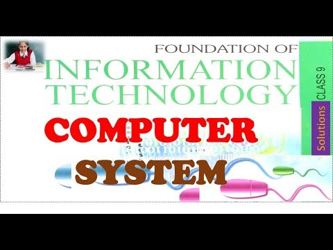 Computer System Class 9 FIT CS CBSE Chapter 2 IN HINDI