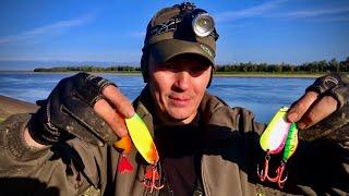 Эти блёсна сделали рыбалку Щука сошла с ума Яркие блёсна победили Рыбалка в 4 часа утра