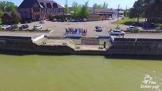 квадрокоптер полет на свадьбе Славянск-на-Кубани река протока