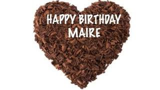 MaireIrish irish pronunciation   Chocolate - Happy Birthday