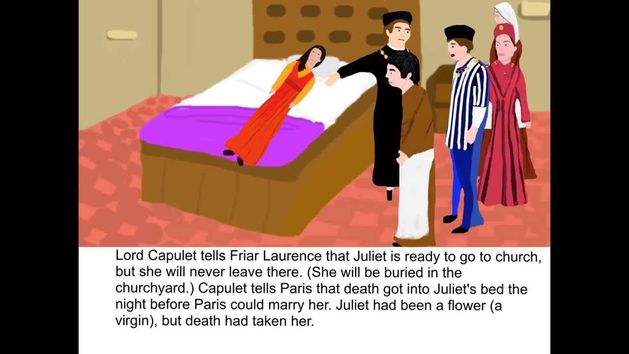 romeo and juliet act scene summary romeo and juliet act 4 scene 5 summary