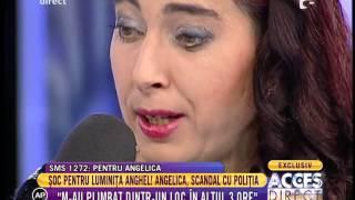Angelica, scandal cu poliția pentru fetiță