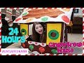 24 Hour Gingerbread House Challenge / JustJordan33