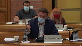 intervention de Frédéric Bourdon sur le budget 2021 de la ville