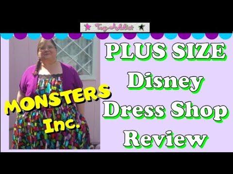 Plus Size Disney Dress Shop Review of Monsters Inc Dress ~ Toy ...