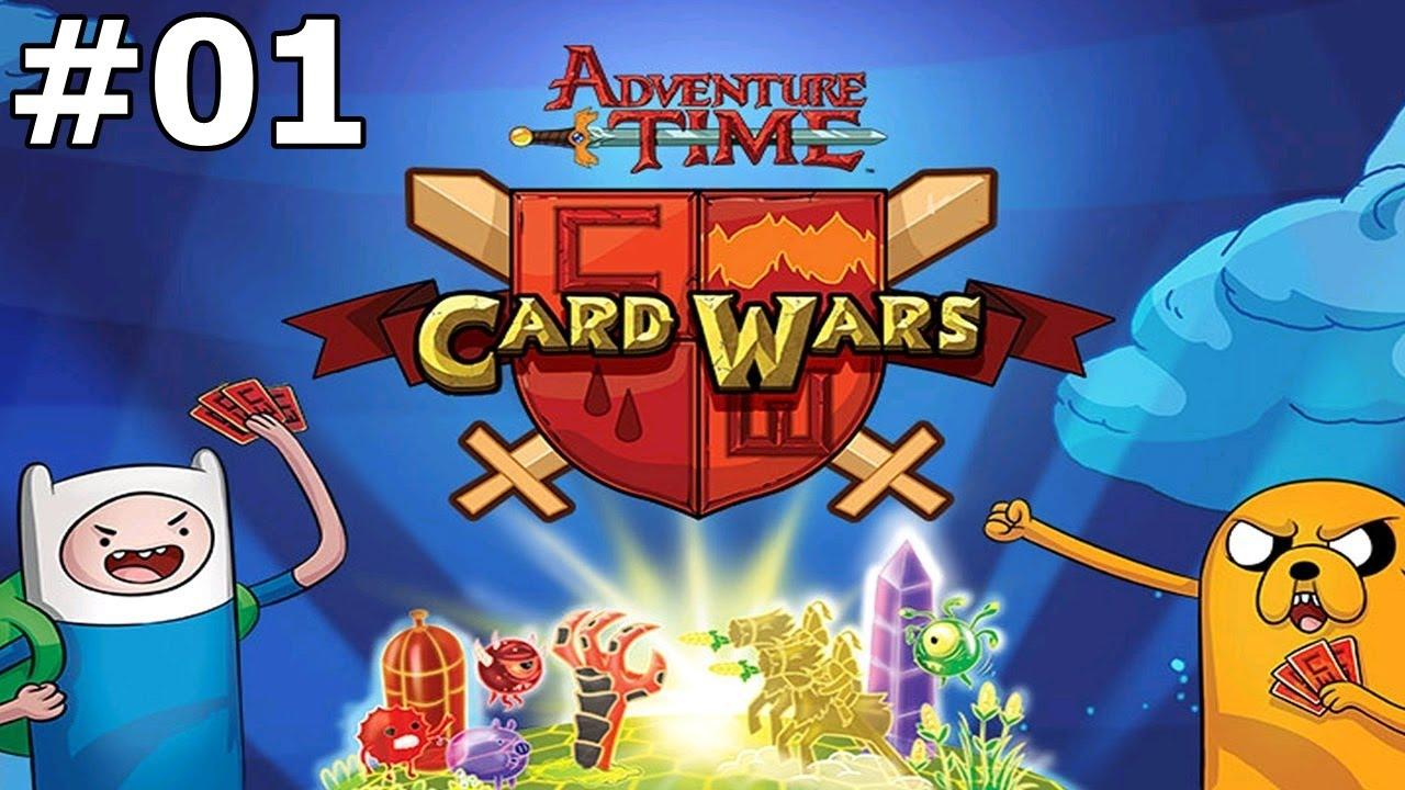Guerra de Cartas #02 : Jake lvl 2 / Novo Herói ( Card Wars )