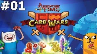 Guerra de Cartas #01: Primeira Batalha ( Card Wars )
