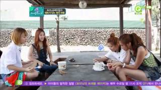 120829 QTV 4Minute Travel Maker - Episode 07 (720p) Travel Video