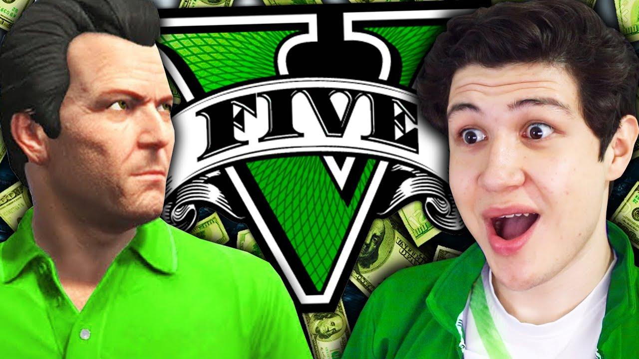 JUEGO como MILLONARIO en GTA 5! Grand Theft Auto V - GTA V Mods thumbnail