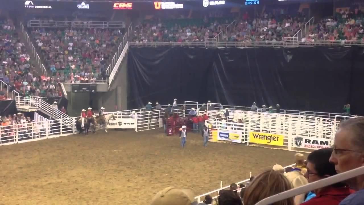Quinn Kesler Matt Sherwood Days Of 47 Rodeo Salt Lake