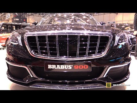 2018 Mercedes Maybach S65 Brabus Rocket 900 - Exterior Interior Walkaround - 2018 Geneva Motor Show
