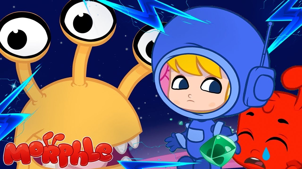 ???? Morphle's SPACE ADVENTURE ????- My Magic Pet Morphle   Cartoons For Kids   ABCs and 123s