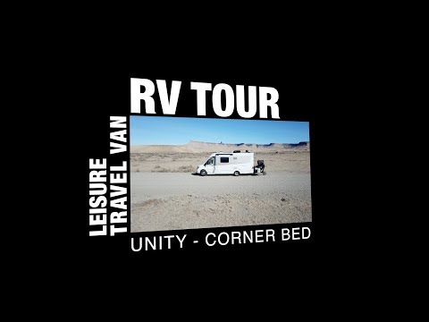 Leisure Travel Van: Unity Corner Bed