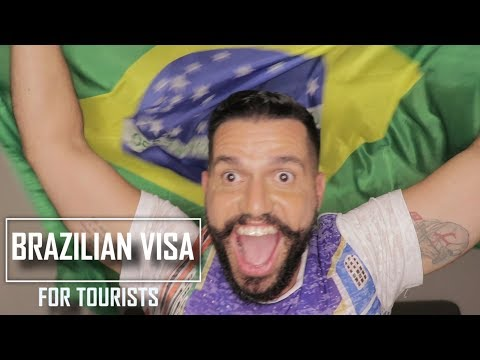 HOW TO GET A TOURIST VISA FOR BRAZIL UNTIL JUNE 2019