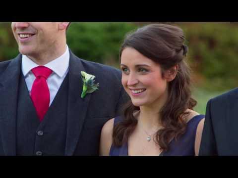 Edinburgh Botanical Gardens wedding video - Rachel & Dan - Butterfly Films