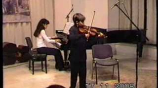 Paganini theme con variazioni, David Kurtic
