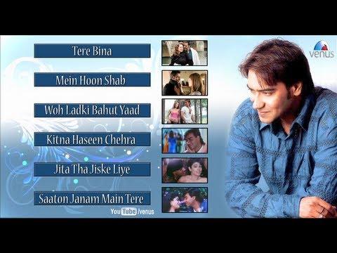 Ajay Devgan : Bollywood Romantic Songs || Video Jukebox thumbnail