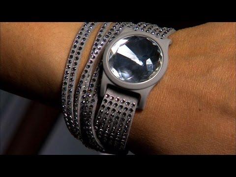 misfit shine gets extra sparkle with swarovski crystals youtube. Black Bedroom Furniture Sets. Home Design Ideas