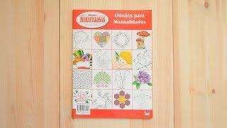Revista Dibujos para manualidades. Manos Maravillosas