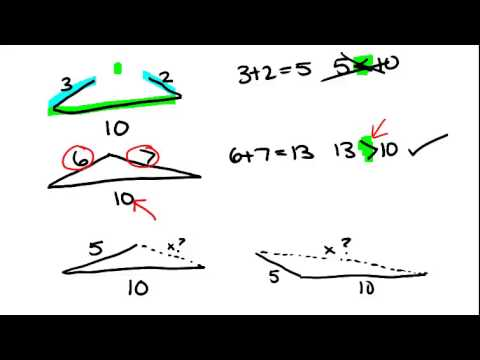 Triangle Inequality Theorem: Lesson (Geometry Concepts